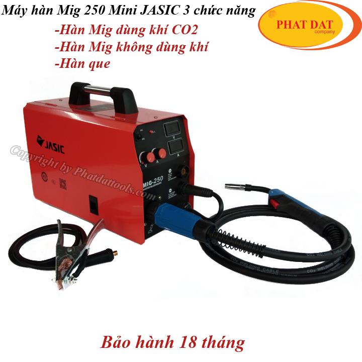 Sản phẩm Máy hàn Mig Mini 250 Jasic 3tính năng tốt nhất